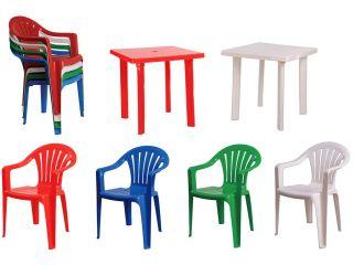 Пластиковые столы и стулья — новый раздел!